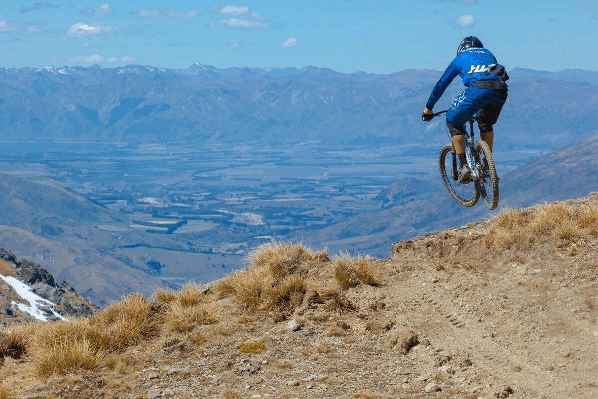 Biking in Queenstown