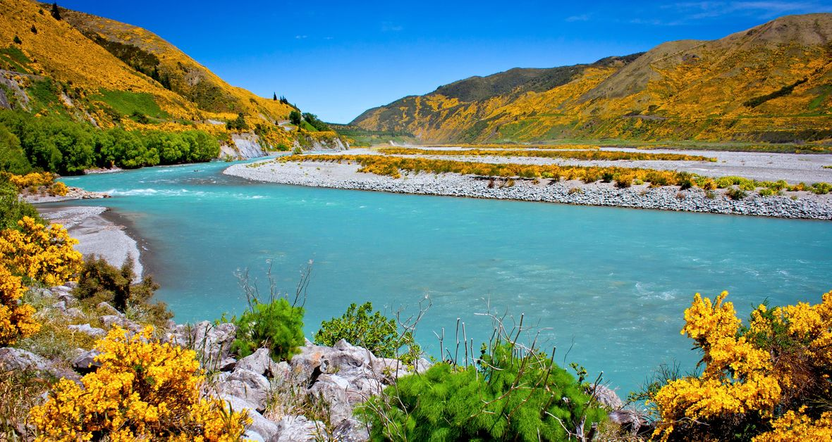 Waiau River, Hanmer Springs, New Zealand