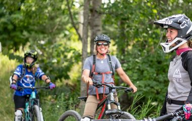Give mom a mountain bike tour for Mother's Day