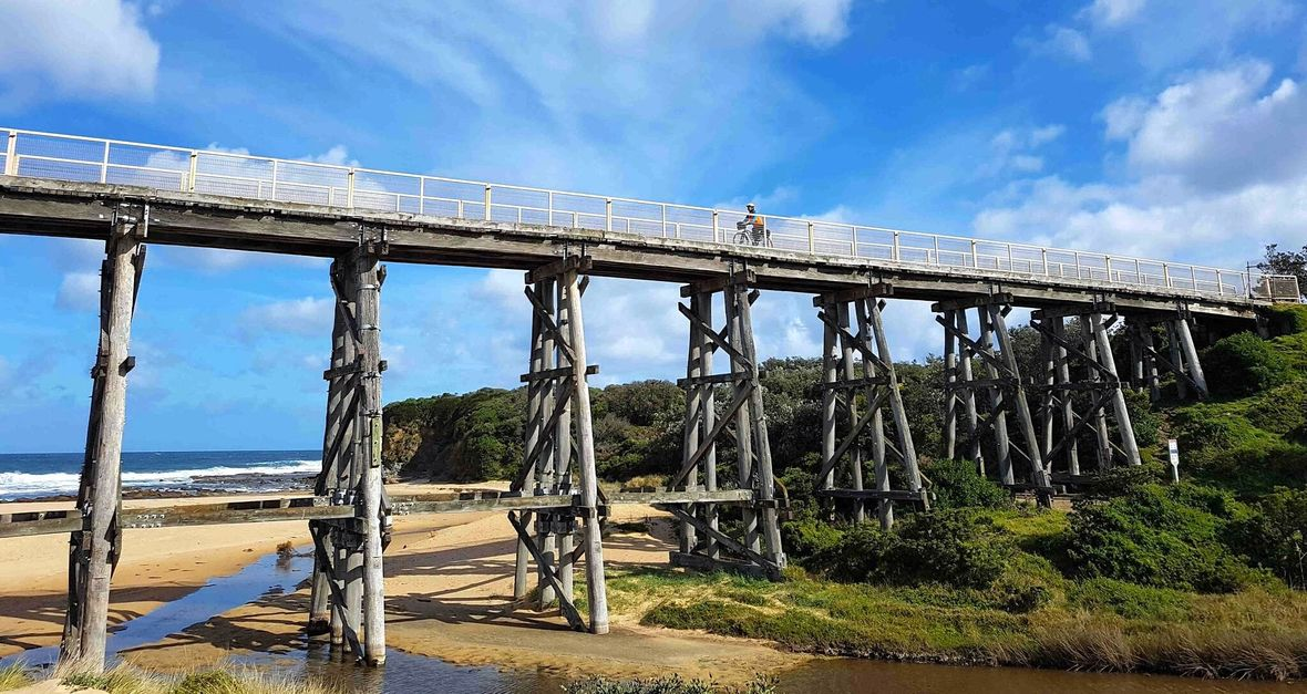 Gippsland Rail Trail Bridge