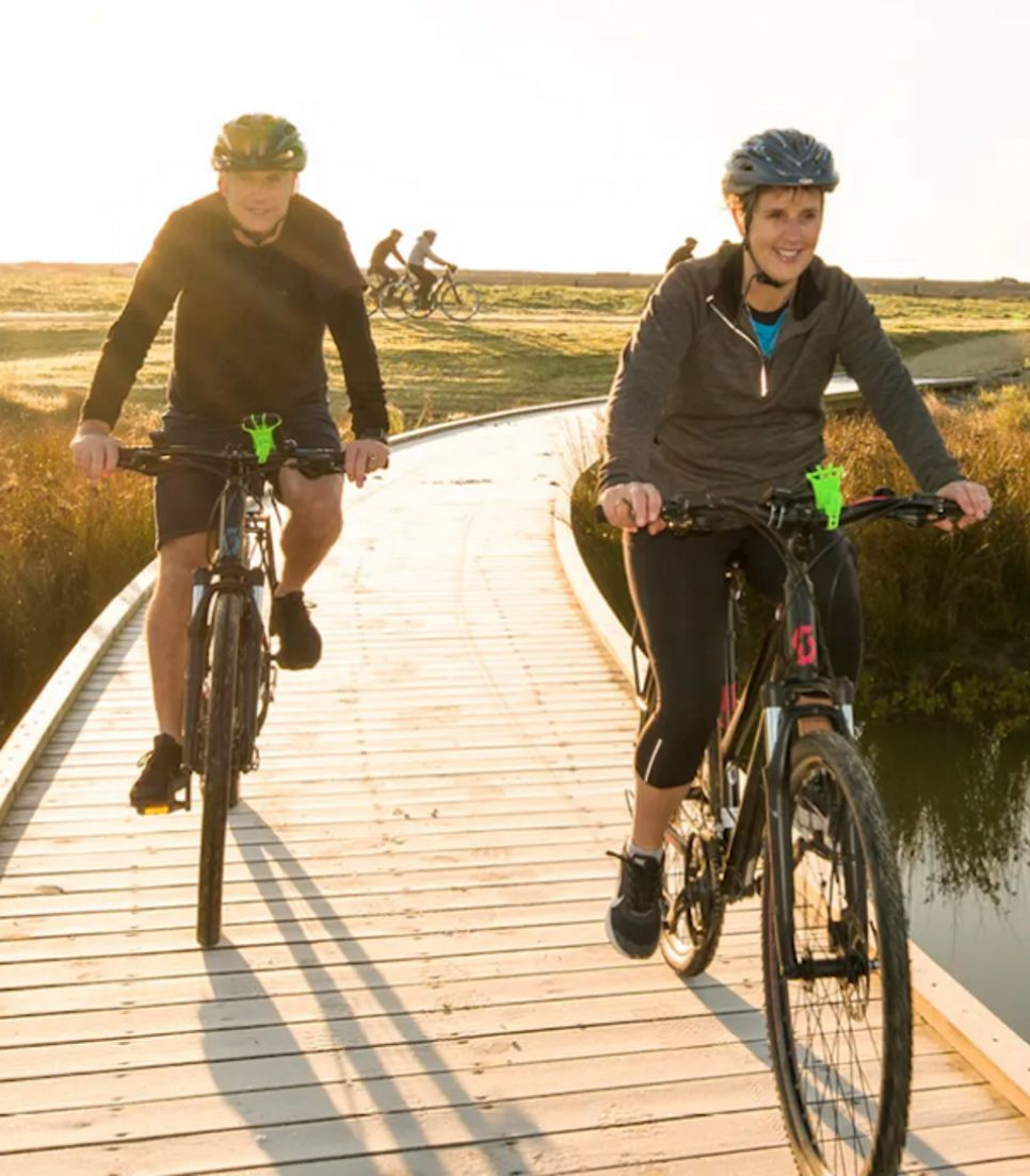 Enjoy a superb self-guided bike tour in this lovely destination