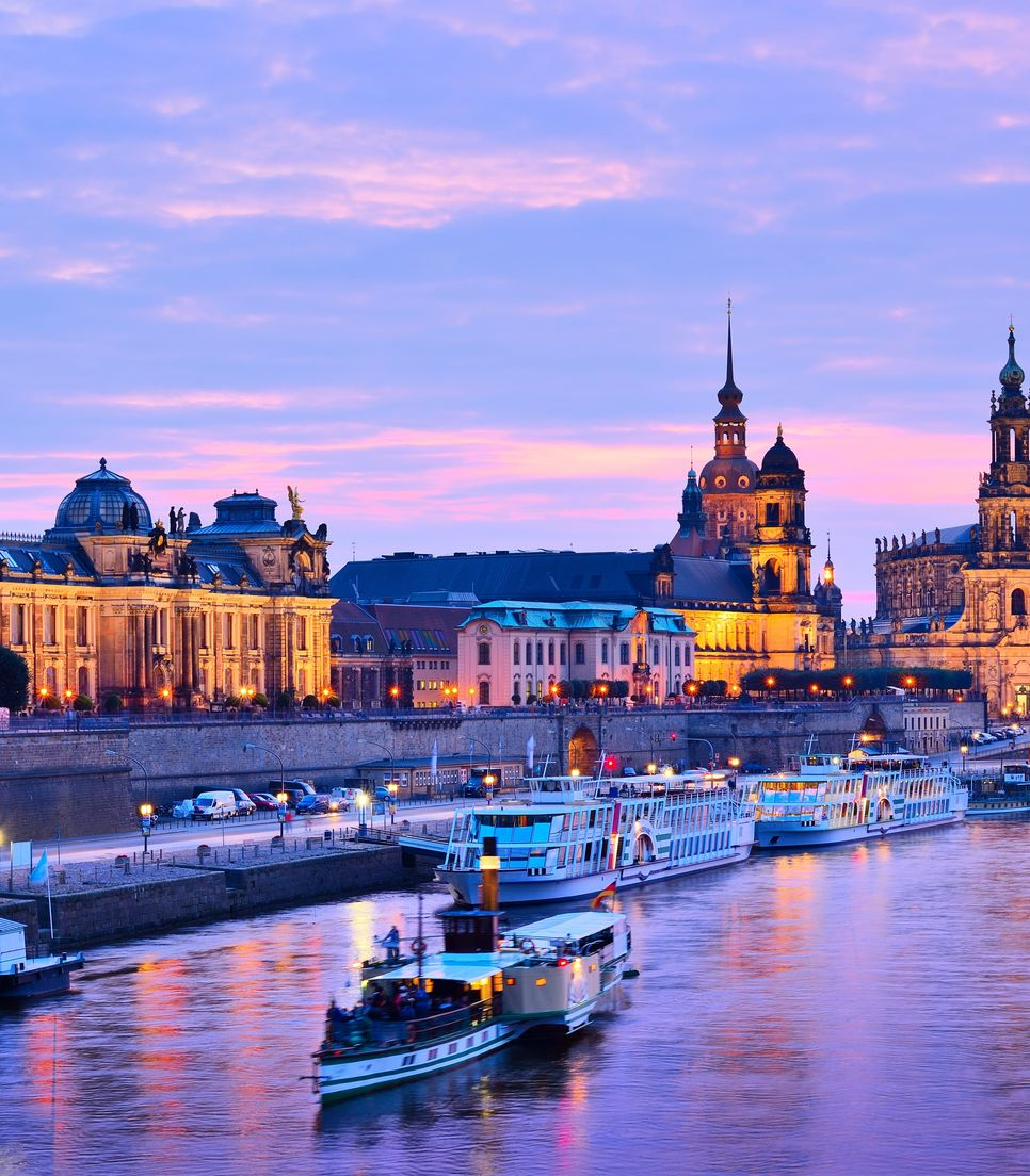 Spend two nights based in vibrant Dresden