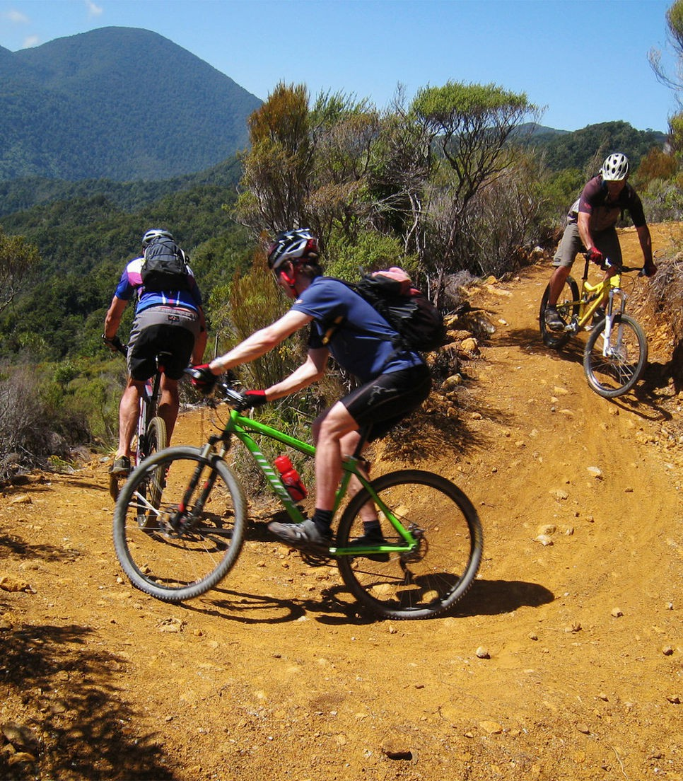 Have a go at New Zealand's famous trails