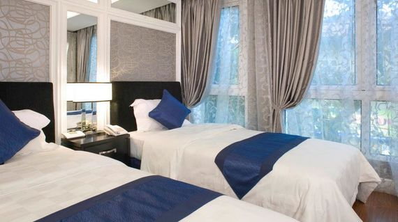 Start the tour on the right foot with contemporary accommodations in Vietnam's capital