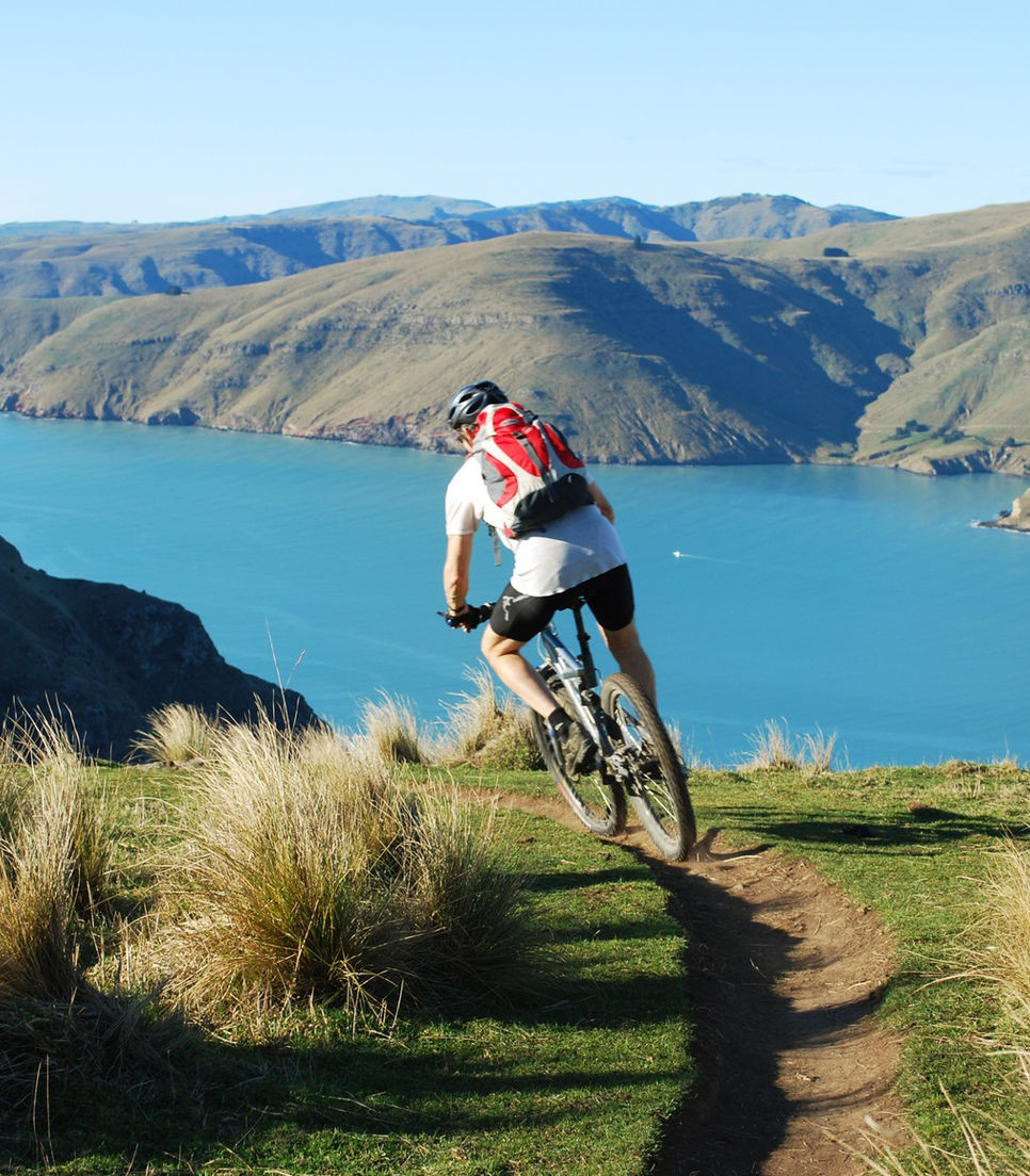 Rip the winding Christchurch singletrack