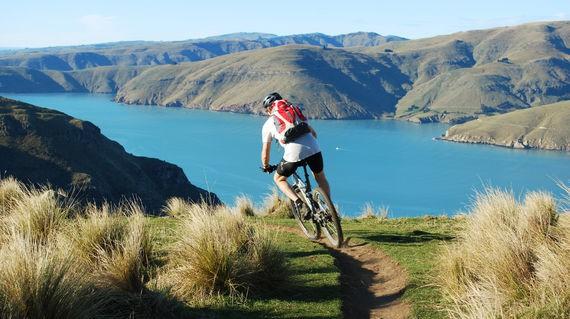Rip the winding Christchurch singletrack