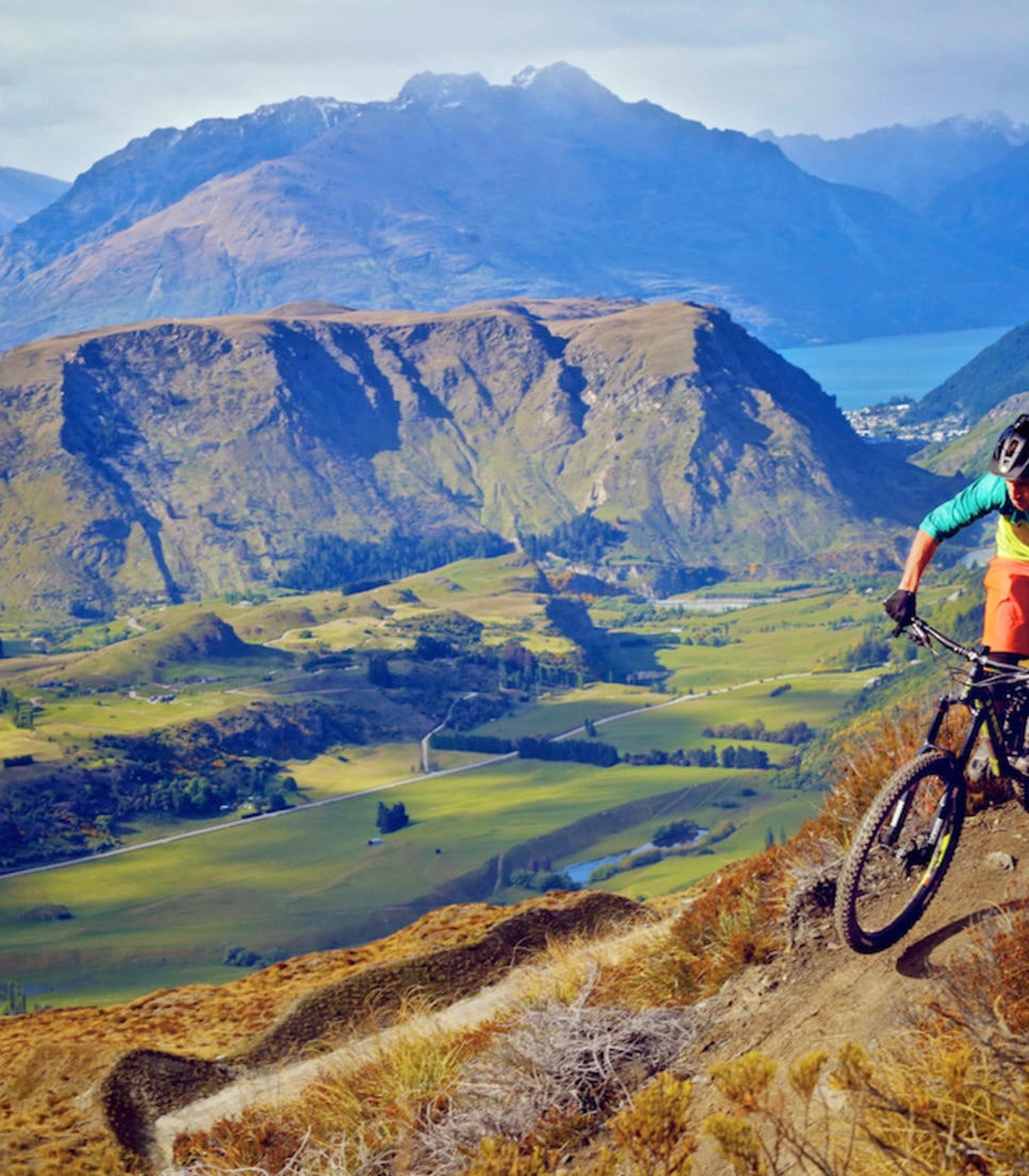 Epic singletrack takes you down the Crown Range