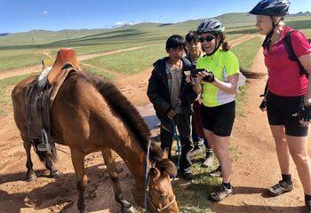 Nomadic Mongolia Bike Tour