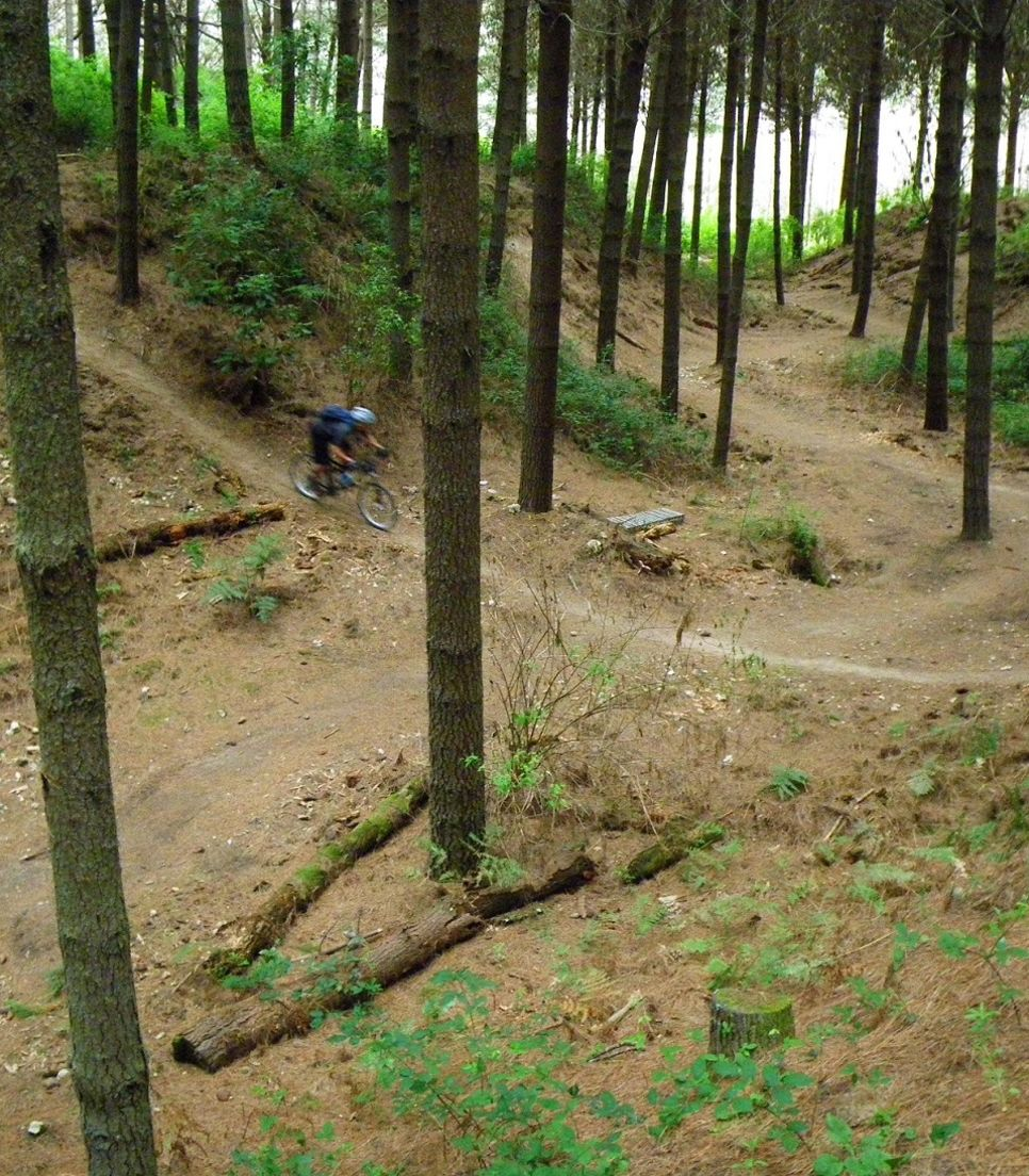 Hit the exact trails that the pros ride on