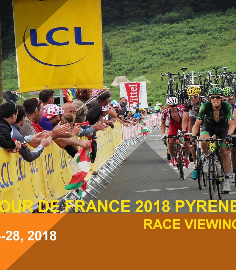 Experience the Tour de France first hand in the midst of the Pyrenees