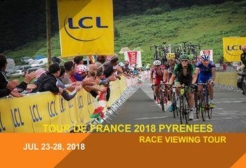Tour de France 2018 Pyrenees Cycling Tour