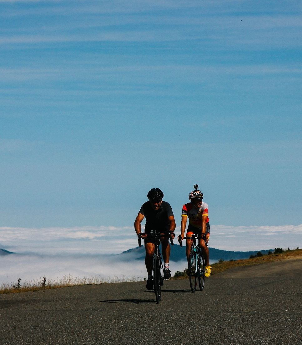 There will be tough climbs but it's still a heavenly experience