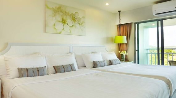 Luxe beach side resort in the Rayong Province