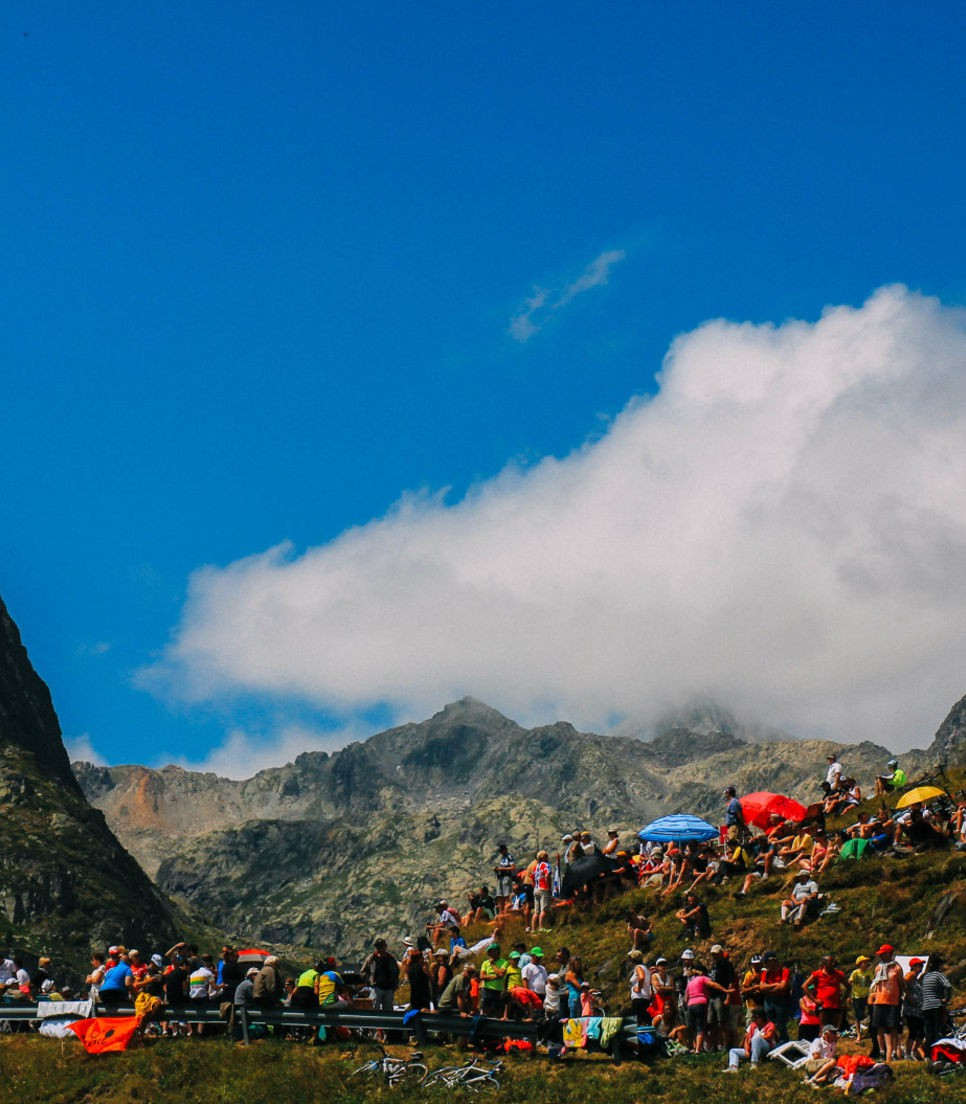 Cycle the TdF route and watch from exclusive viewing areas