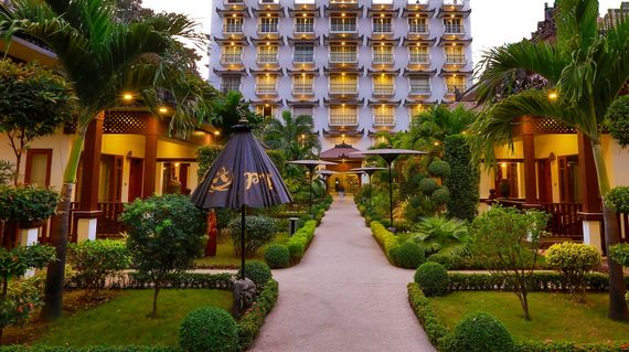 Unwind after a day's outing at this beautiful hotel