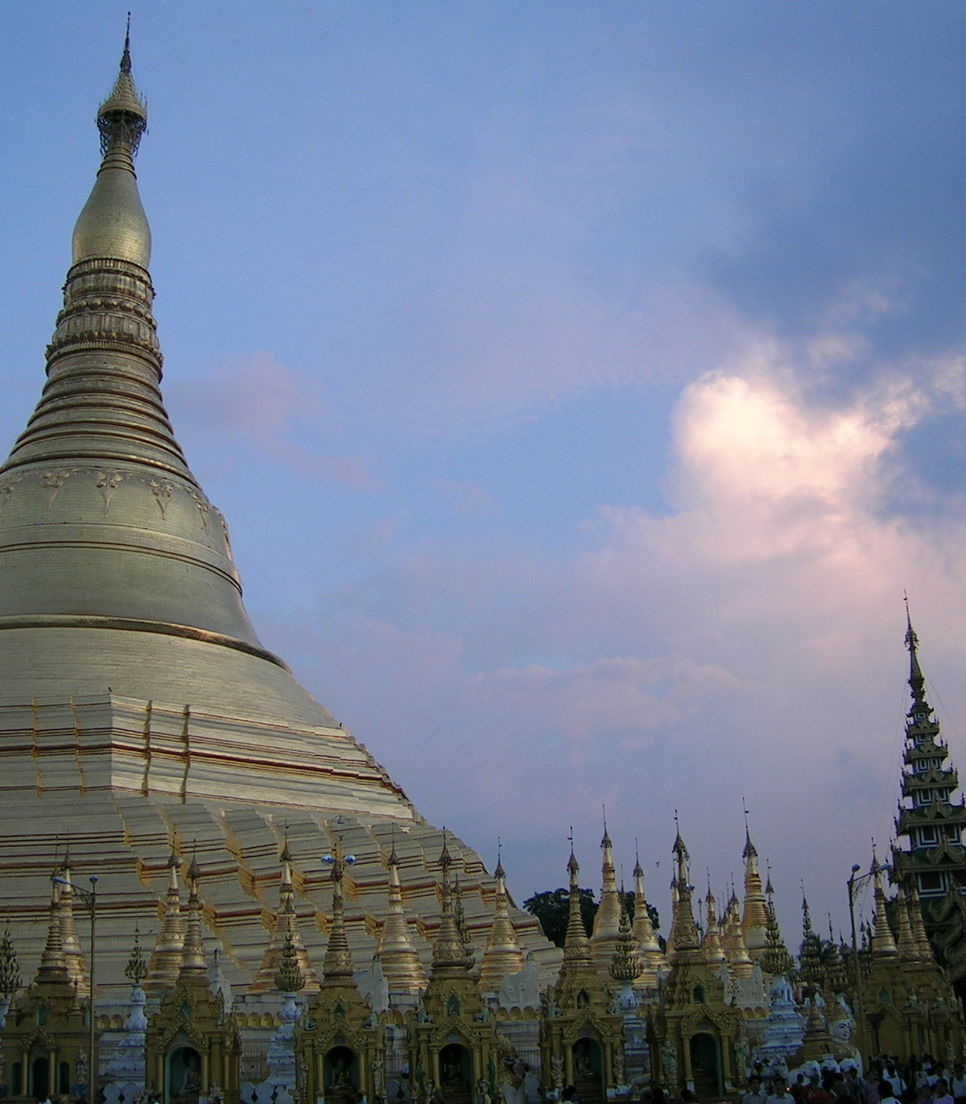 Myanmar's holiest religious site