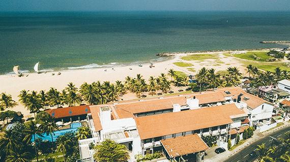 A premier beach front hotel