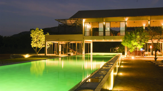 A relaxing resort nestled amidst mango groves and rice fields