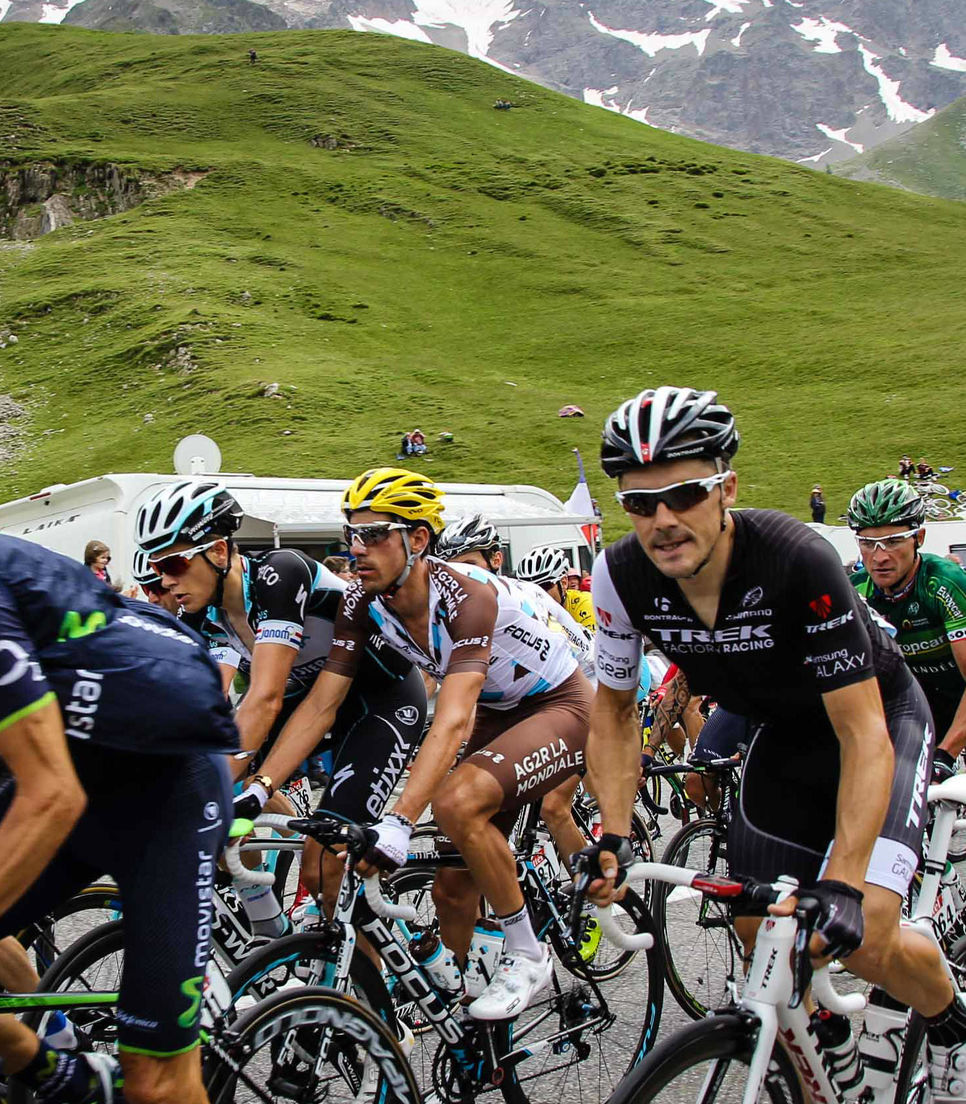 Catch a glimpse of your favorite cycling heroes