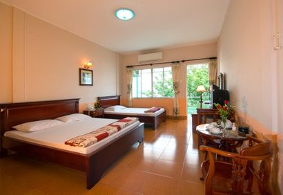 Cuu Long Hotel - rooms