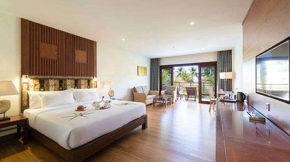 A 5-star modern resort in tropical surroundings with the largest salt water pool in Thailand.
