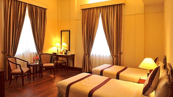 French colonial 4-star hotel located in the center of Dalat