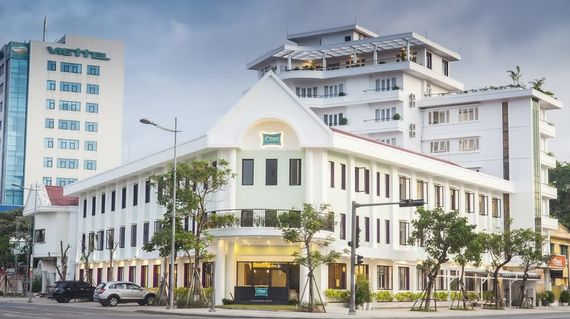 A stylish 3 - 4 star hotel that's centrally located in Hue.