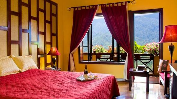 A castle inspired hotel in the heart of Sapa town.
