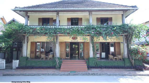 Charming hotel designed in the style of Luang Prabang Colonial Architecture.