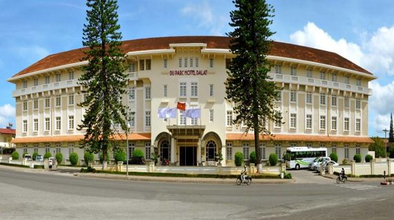 French colonial hotel that's conveniently located in Da Lat.