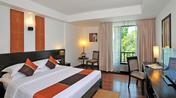 Elegant hotel that's conveniently located near the Angkor complex
