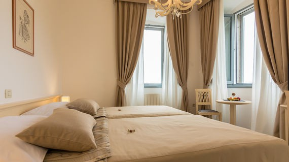 Historic hotel with charmingly laid back rooms