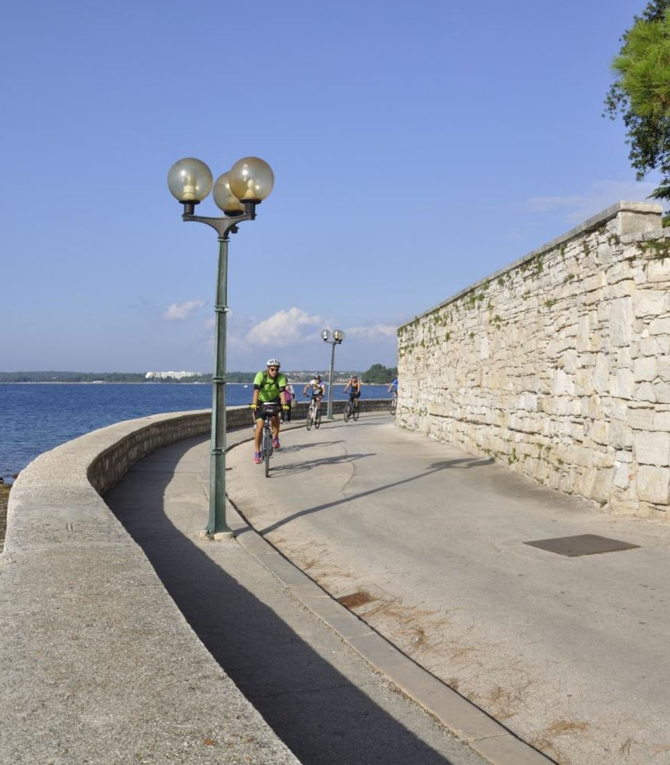 Cycle leisurely across Istria and appreciate the sublime scenery