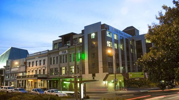 Modern hostel in the very center of Wellington