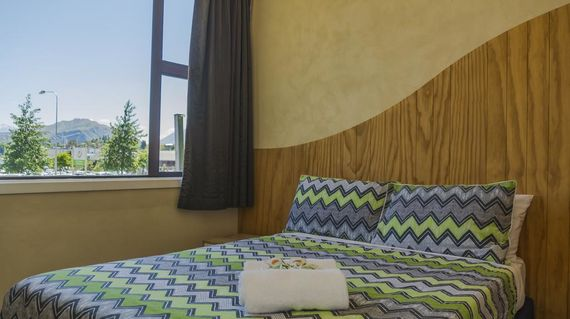 Lake view accommodations that's also located in the center of town