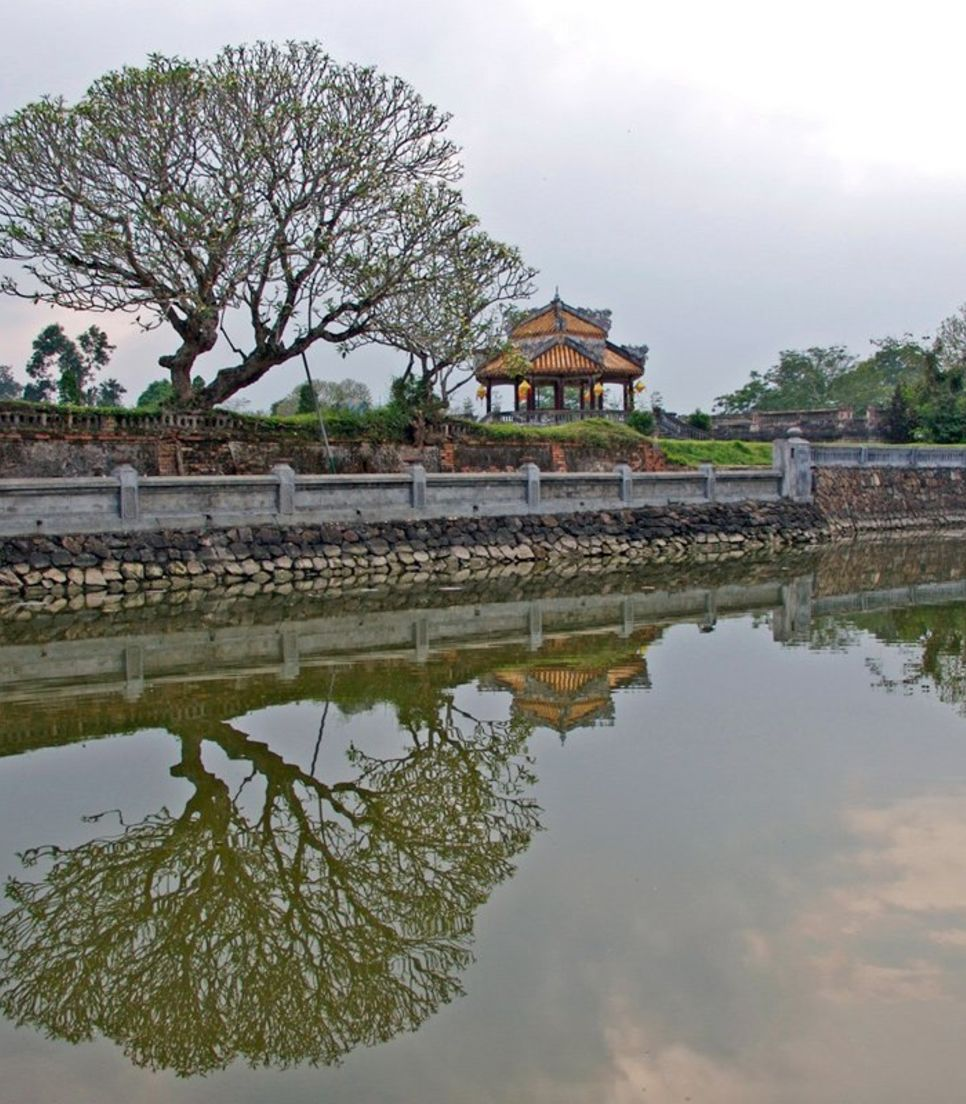 Unfurl Vietnam's history through ancient structures that are still standing