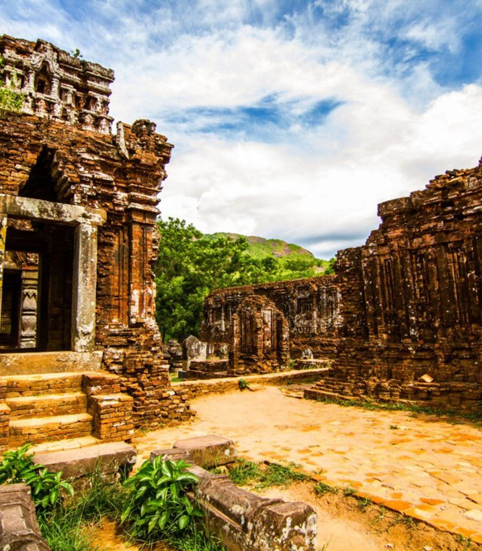 Visit the ancient center of the Cham civilization