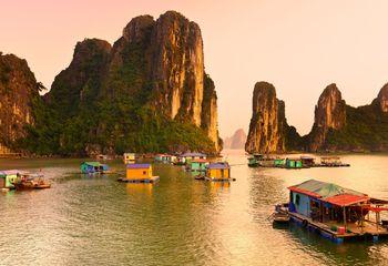 Ha Long Bay Cycle and Cruise