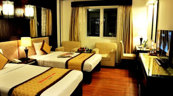 Comfortable accommodations in the peaceful district of  Ha Long town