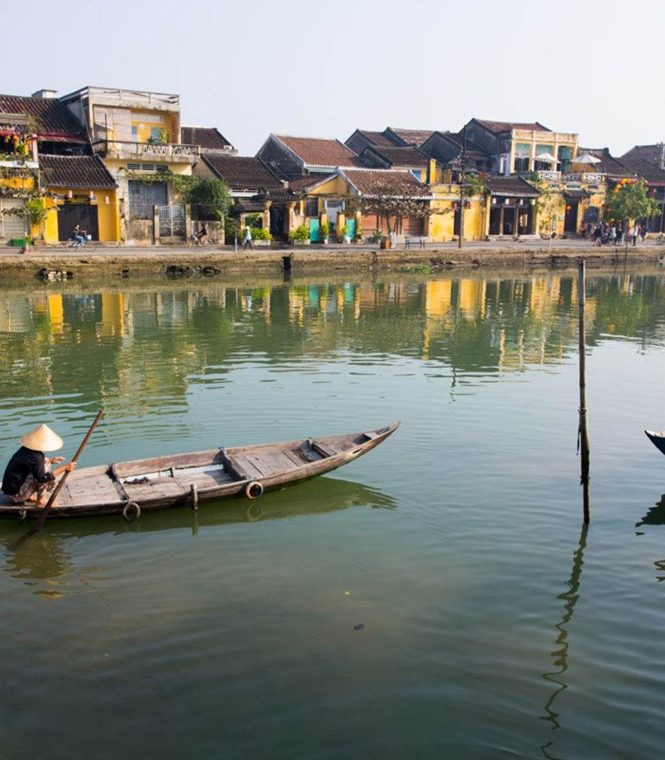 Observe Vietnamese river life as you ride through changing scenery