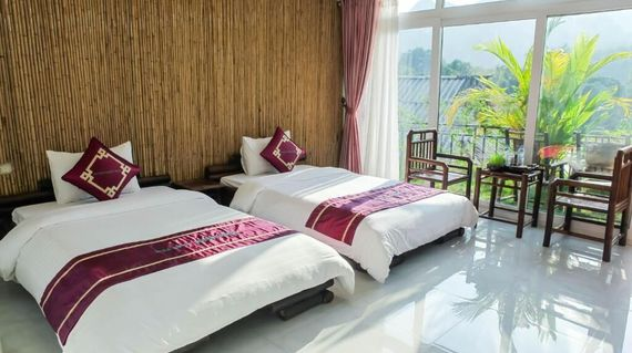 The Sunset Boutique Hotel offers beautiful scenery and natural charm in a clean and very comfortable environment