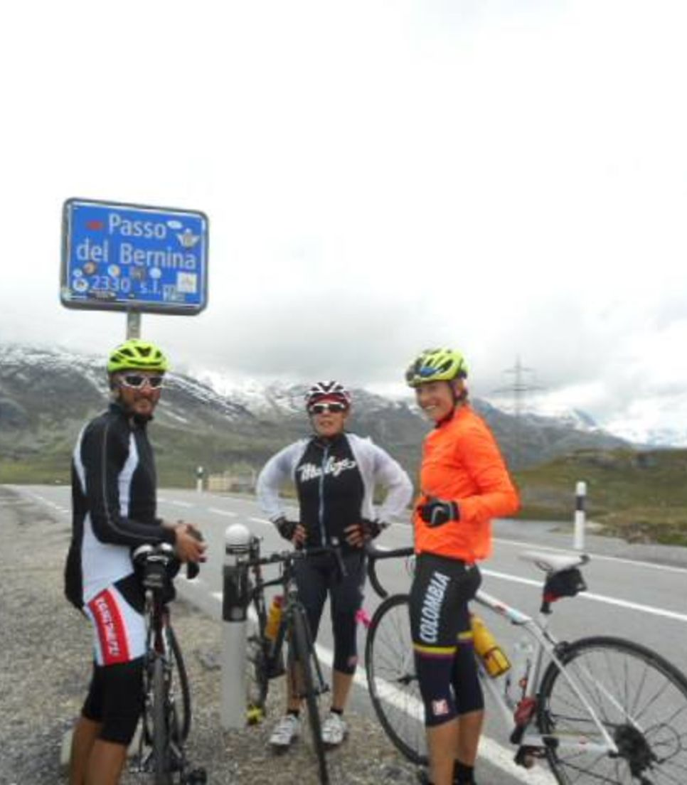 It's going to be a sweet victory as you take on the Bernina Pass.