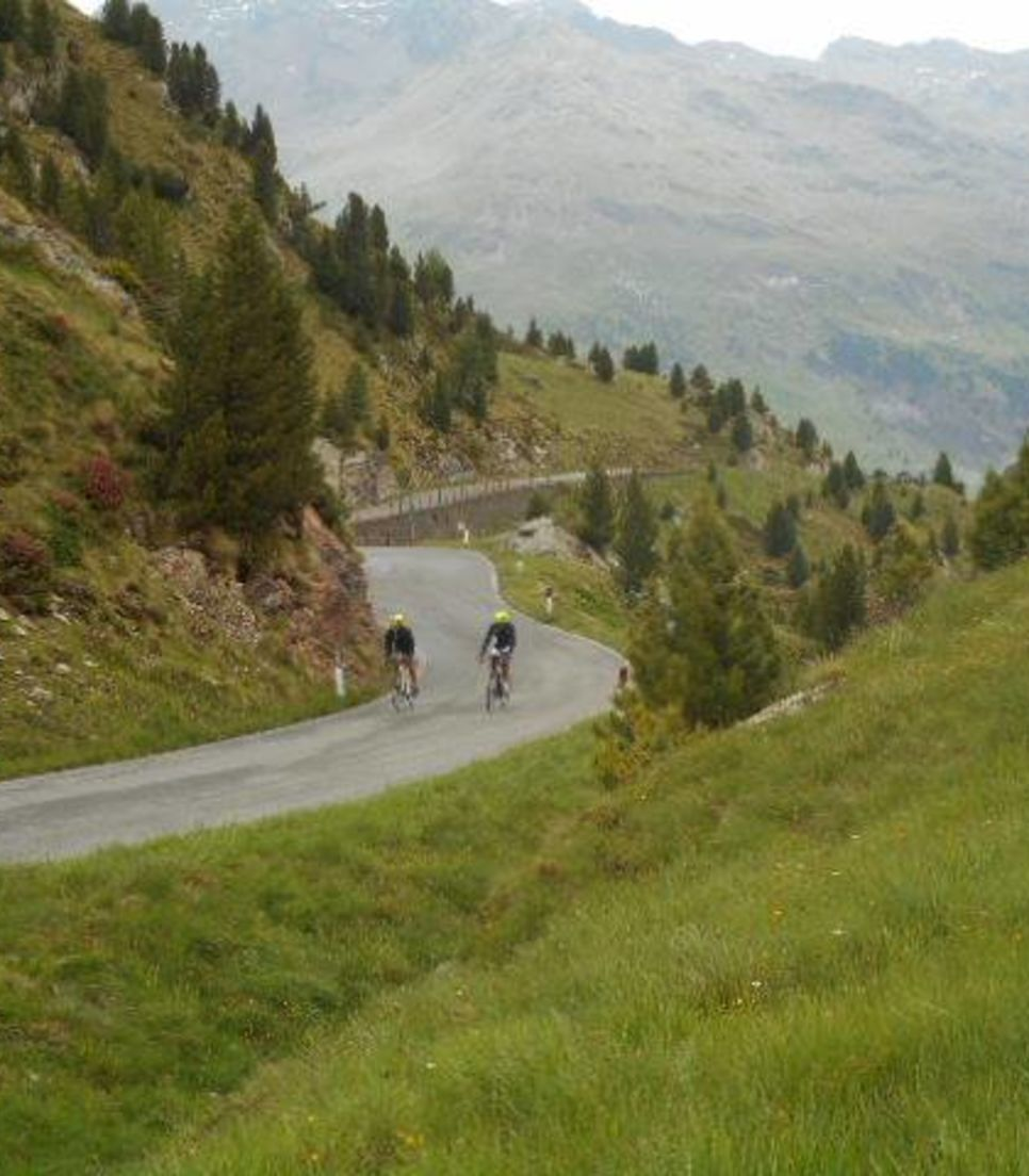 Be like your Giro d'Italia hero and conquer this pass