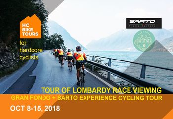Sarto Experience + Tour of Lombardy Cycling Tour
