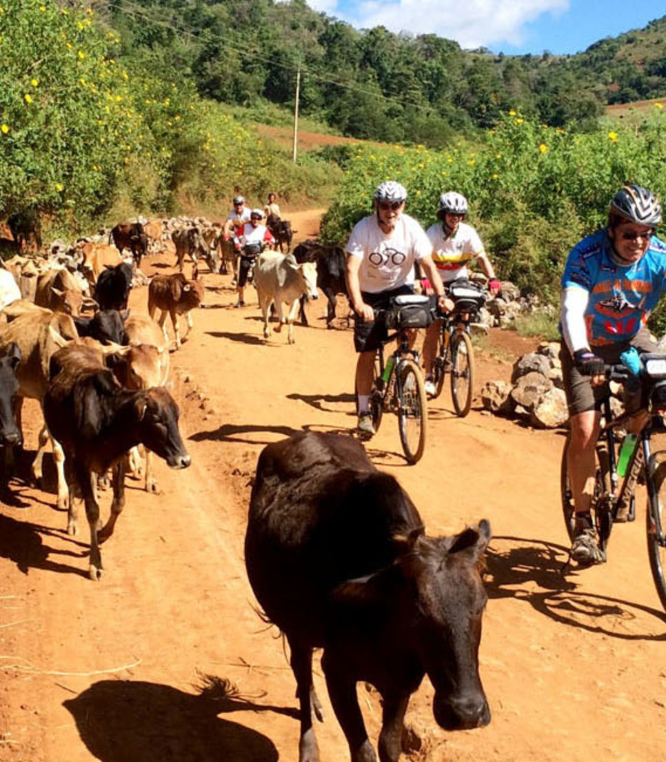 Cycle the back roads with a different crowd