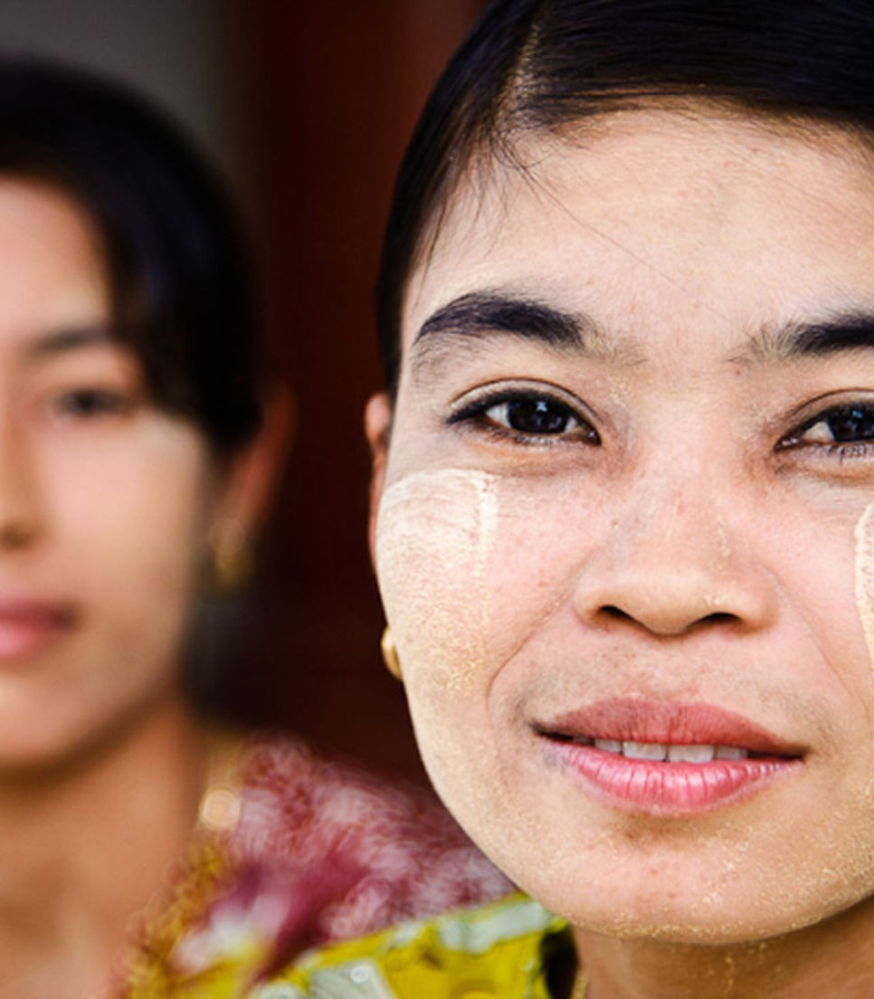 Check out Myanmar's sunscreen secret - Thanaka
