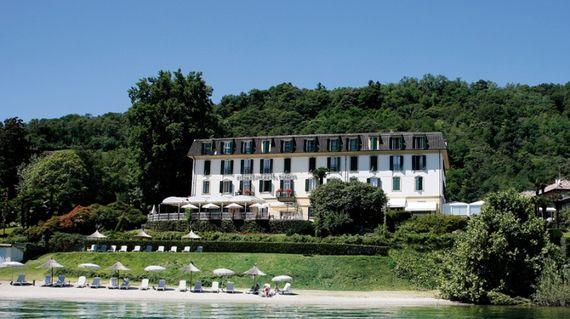 18th century style villa on the shores of Lake Maggiore