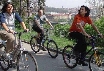 Panoramic & Prague Castle - City Bike Tour
