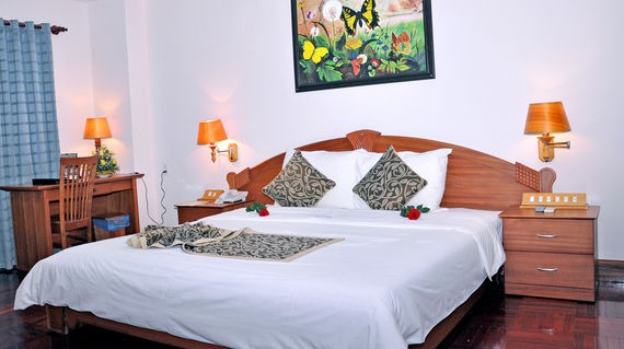 The most high-end accommodation in Pleiku with inviting rooms