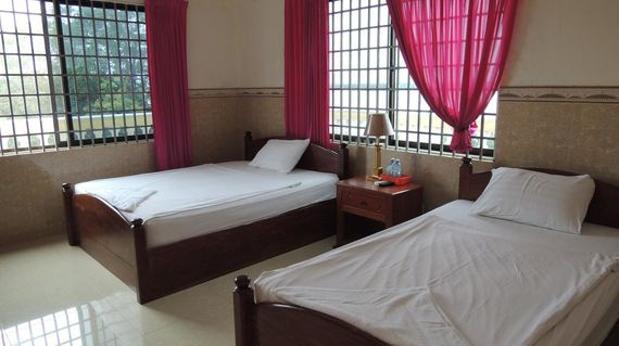 Comfortable hotel within walking distance to the Mekong River